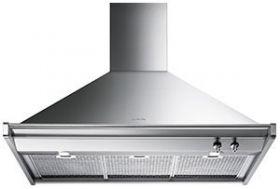 "Smeg 36"" Wall Mounted Ventilation Hood-Stainless Steel-KD90XU"