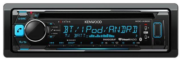Kenwood Excelon CD Receiver-KDC-X300