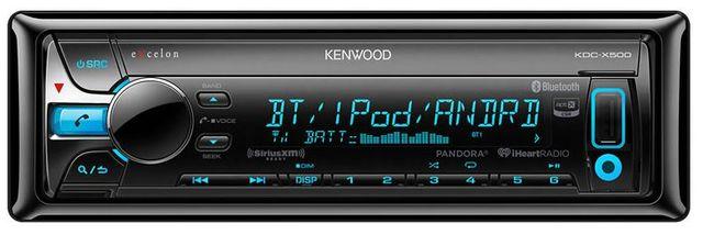 Kenwood Excelon CD Receiver-KDC-X500