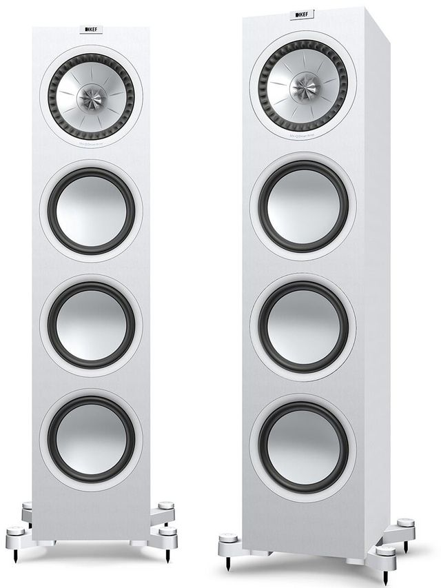 KEF Q950 Floorstanding Speaker-Satin White-Q950-WH-Q950-WH