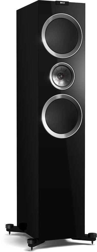 KEF R900 Floorstanding Speaker-Piano Black High Gloss-R900-BK-R900-BK