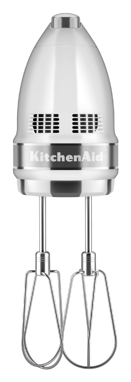 KitchenAid® White Hand Mixer-KHM926WH