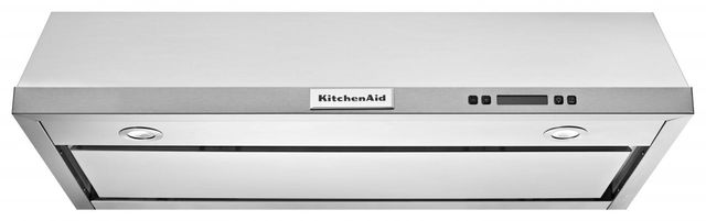 KitchenAid® 36'' Stainless Steel Under The Cabinet Hood-KVUB606DSS