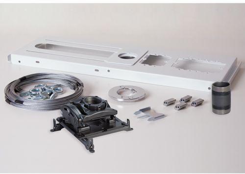 Chief® Black Elite Universal Ceiling Projector Mount Kit-KITES003