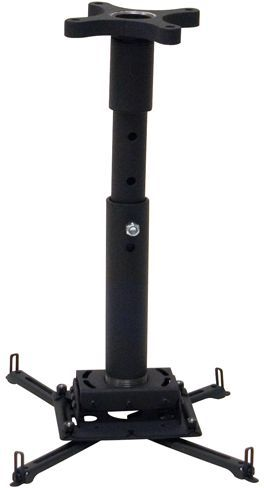 Chief® Black Universal Ceiling Projector Mount Kit-KITPF018024