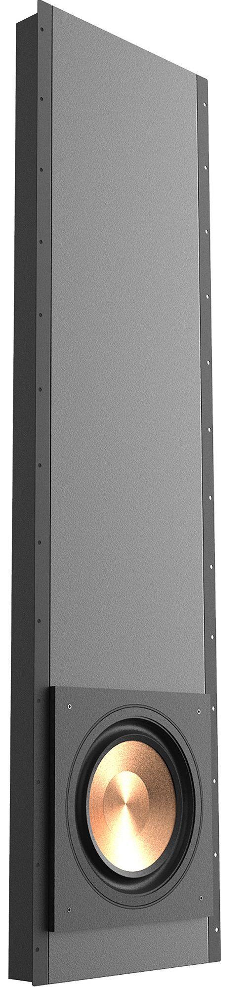 "Klipsch® Professional Series PRO-1200SW Black Polymer Veneer 12"" In-Wall Subwoofer-1064595"