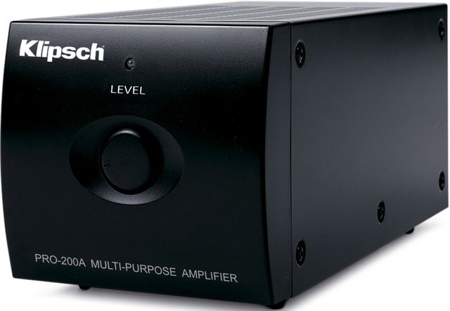 Klipsch® Professional Series PRO-200-A Multi-Purpose Amplifier-1062388