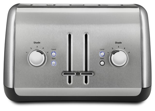 KitchenAid® Contour Silver Toaster-KMT4115CU