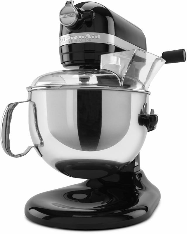 KitchenAid® Professional 600™ Series Onyx Black Stand Mixer-KP26M1XOB
