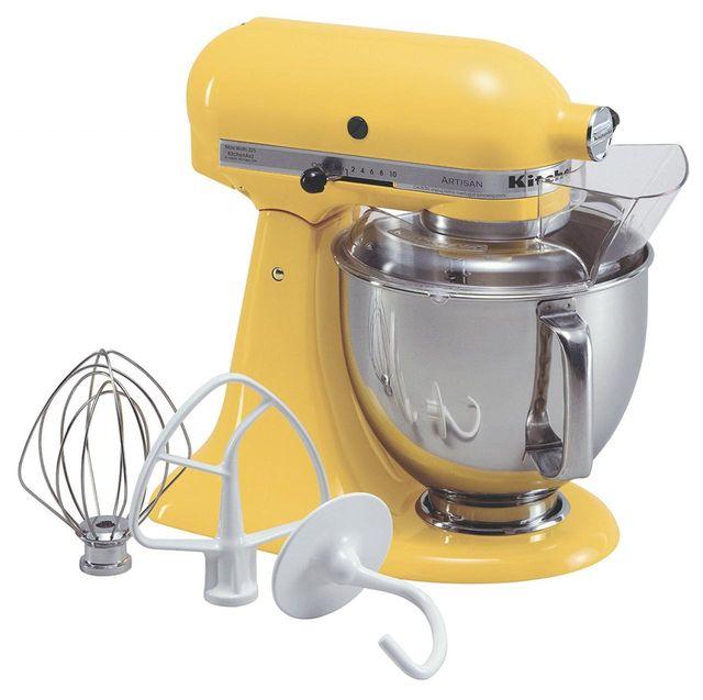 KitchenAid® Artisan® Series Buttercup Stand Mixer-KSM150PSBF