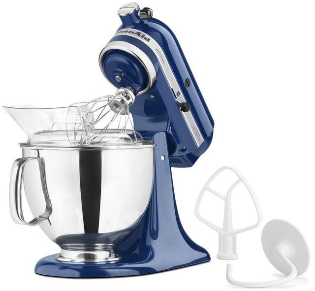 KitchenAid® Artisan® Series Blue Willow Stand Mixer-KSM150PSBW