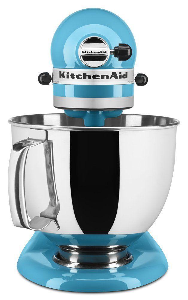 KitchenAid® Artisan® Series Crystal Blue Stand Mixer-KSM150PSCL