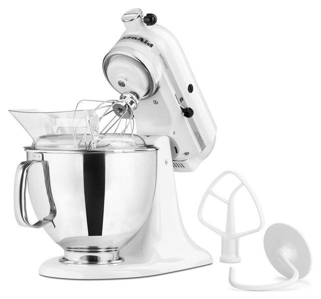 KitchenAid® Artisan® Series White Stand Mixer-KSM150PSWH