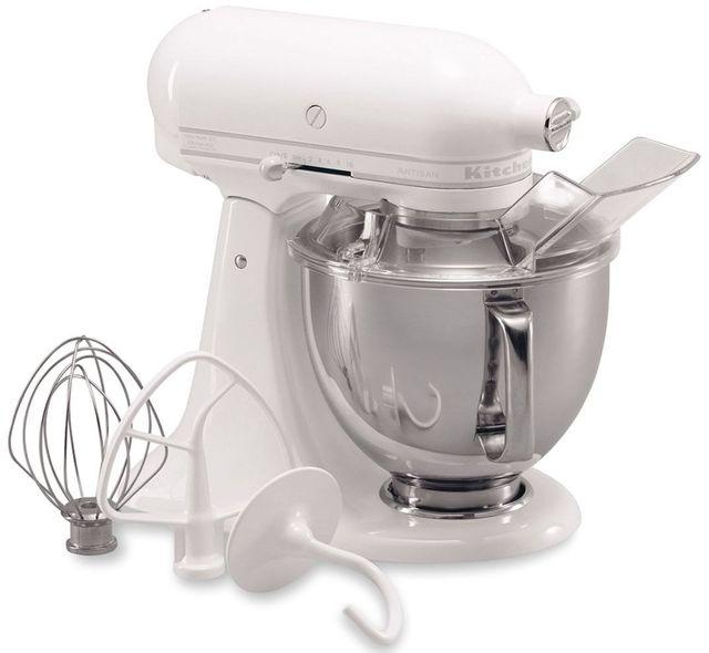 KitchenAid® Artisan® Series White-On-White Stand Mixer-KSM150PSWW