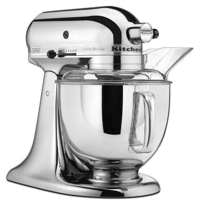 KitchenAid® Custom Metallic® Series Chrome Stand Mixer-KSM152PSCR