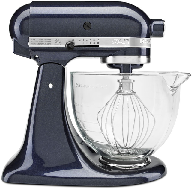 KitchenAid® Artisan® Design Series Blueberry Stand Mixer-KSM155GBUB