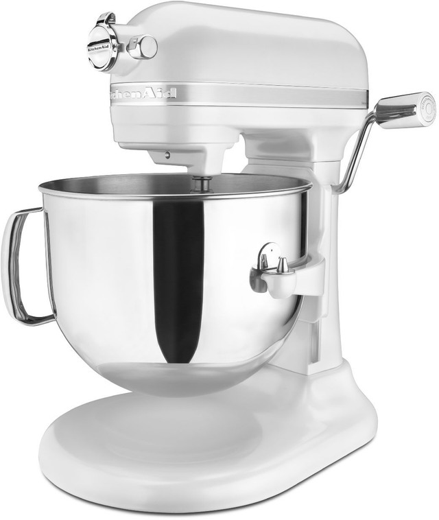 KitchenAid® Pro Line® Series Frosted Pearl White Stand Mixer-KSM7586PFP
