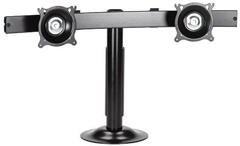 Chief® Black Dual Monitor Horizontal Grommet Mount-KTG220B