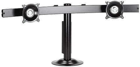 Chief® Black Widescreen Dual Monitor Horizontal Grommet Mount-KTG225B