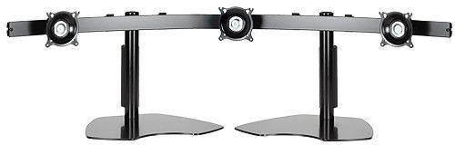 Chief® Black Widescreen Triple Monitor Horizontal Table Stand-KTP325B