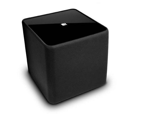 KEF KHT 3000 Series Powered Subwoofer Speaker-Gloss Black-Kube-2
