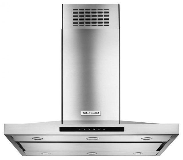 KitchenAid® 42'' Island Mount Hood-Stainless Steel-KVIB602DSS