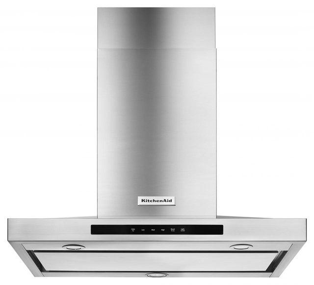 KitchenAid® 30'' Stainless Steel Wall Hood-KVWB600DSS