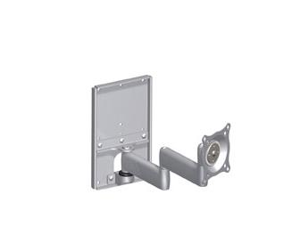 Chief® Silver Professional AV Solutions Dual Arm Metal Stud Wall Mount-KWDSK110S