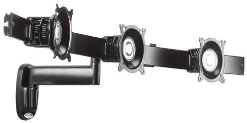 Chief® Black Triple Monitor Single Arm Wall Mount-KWS320B