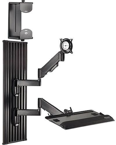 Chief® Black All-in-One Monitor Workstation Wall Mount-KWT110B