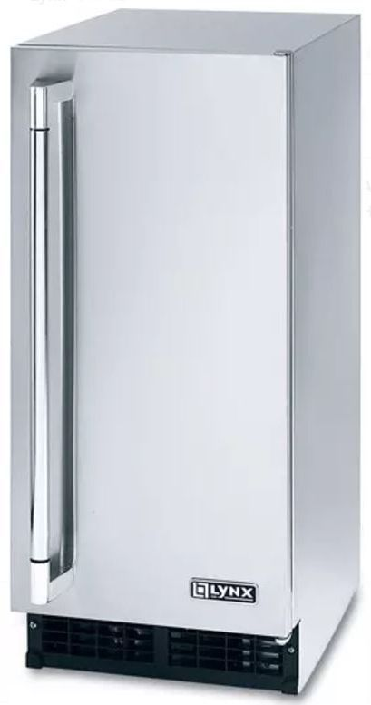 """Lynx 15"""" Outdoor Ice Machine-Stainless Steel-L15ICE"""