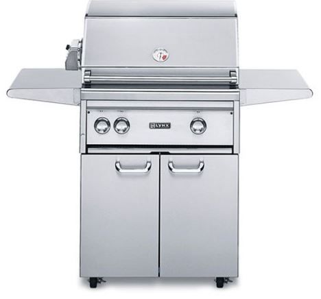 """Lynx Professional Series 27"""" Free Standing Grill-L27FR-2NG"""