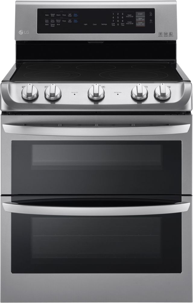 """LG 30"""" Stainless Steel Free Standing Electric Double Oven-LDE4413ST"""