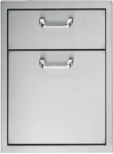 """Lynx Professional Series 16"""" Double Drawer-Stainless Steel-LDW16"""
