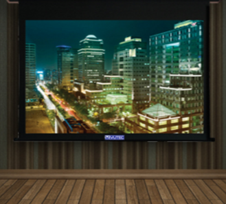 Vutec Corporation Motorized Screen-Lectric II-C MDF