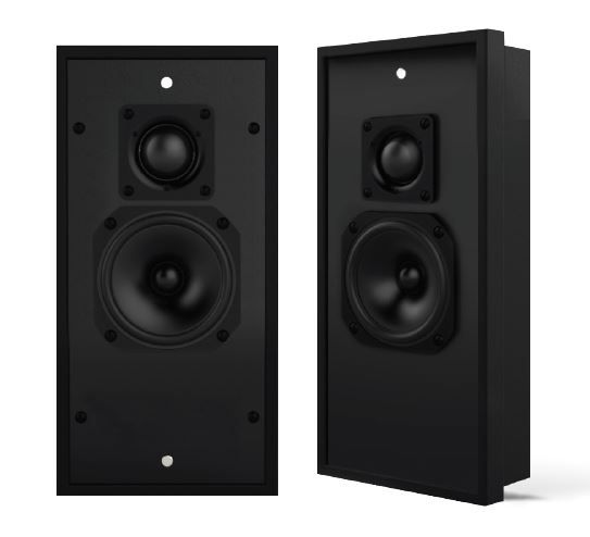 Leon® Detail Ds33 Series Performance Grade On-Wall Surround Speaker-Ds33