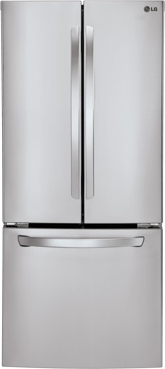 LG 21.8 Cu. Ft. Stainless Steel French Door Refrigerator-LFC22770ST