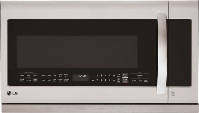 LG 2.2 Cu. Ft. Stainless Steel Over The Range Microwave Oven-LMHM2237ST