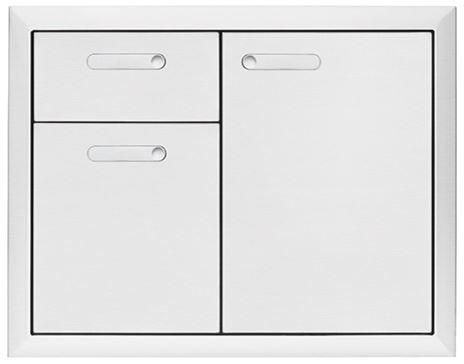 "Lynx® Professional Series 30"" Storage Door & Double Drawer Combination-LSA30-4"