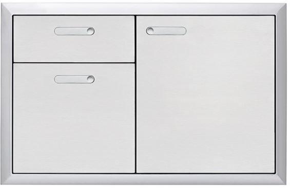 "Lynx® Professional Series 36"" Storage Door & Double Drawer Combination-LSA36-4"
