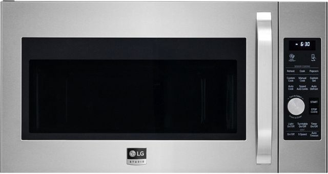 LG Studio 1.7 Cu. Ft. Stainless Steel Over The Range Microwave-LSMC3086ST