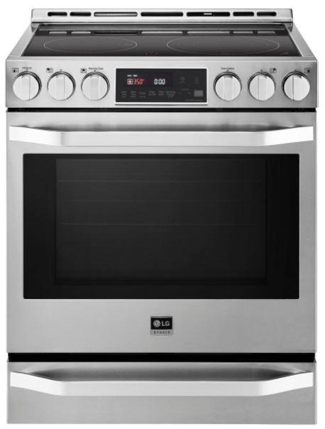 Cuisinière électrique encastrée LG Studio® de 6,3 pi³ de 30 po - Acier inoxydable-LSSE3026ST