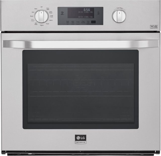 """LG 30"""" Stainless Steel Electric Single Oven Built In-LSWS306ST"""