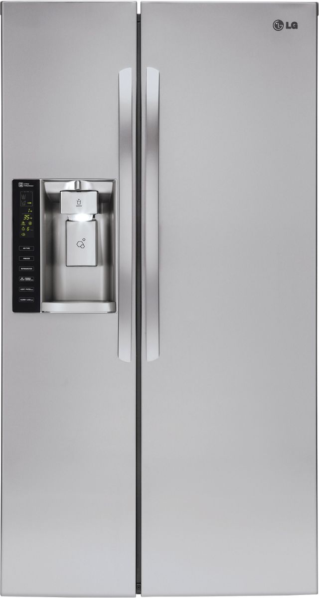 LG 26.2 Cu. Ft. Stainless Steel Side By Side Refrigerator-LSXS26326S