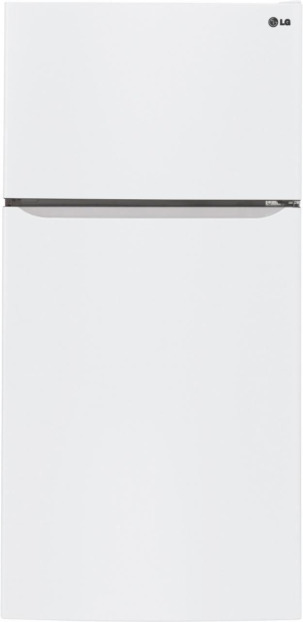 LG 23.8 Cu. Ft. Smooth White Top Freezer Refrigerator-LTCS24223W