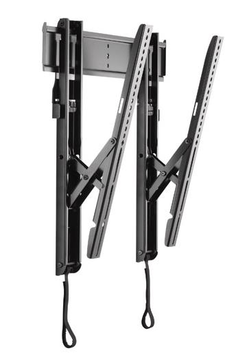 Chief® Professional AV Solutions Black Large THINSTALL™ Tilt Wall Mount-LTTU