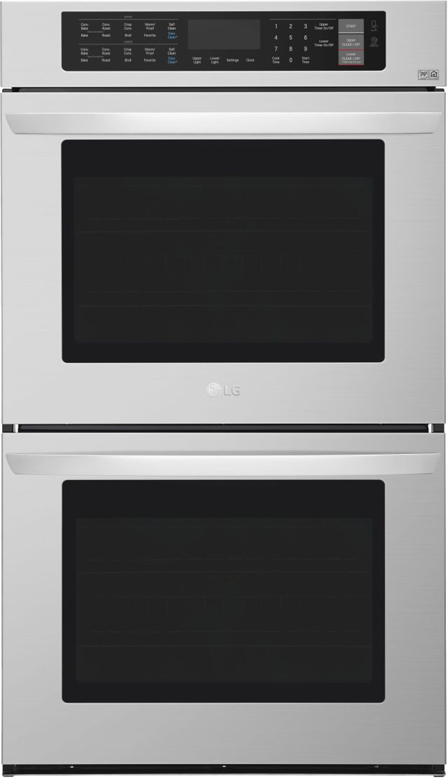 """LG 29.75"""" Stainless Steel Electric Double Oven Built In-LWD3063ST"""