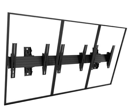 Chief® Professional AV Solutions Black Fusion® Large Wall Mount-LWM3X1UP