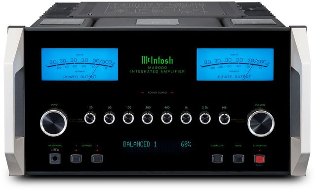 McIntosh® 2 Channel Integrated Amplifier-MA9000