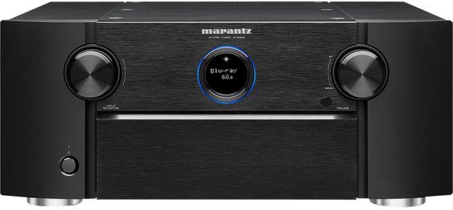 Marantz® Black 13.2 Channel Full 4K Ultra HD Network AV Surround Pre-Amplifier-AV8805